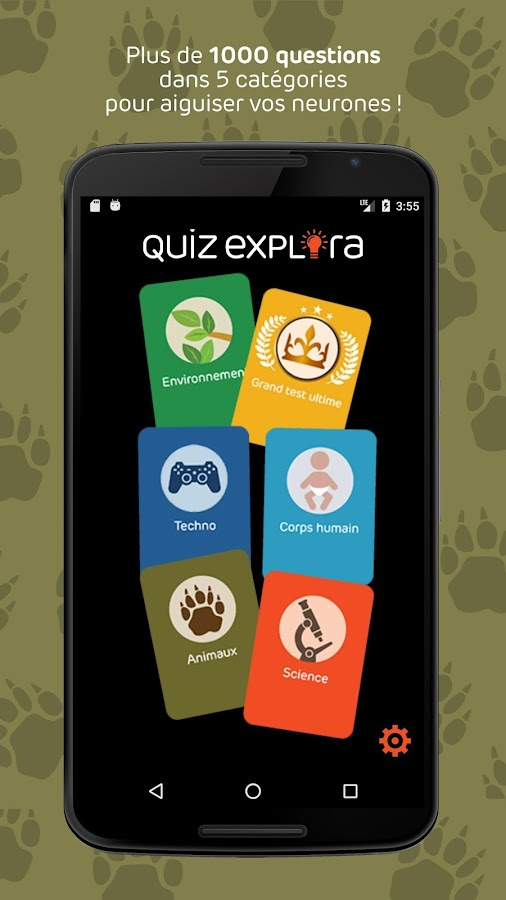 QUIZ EXPLORA- screenshot