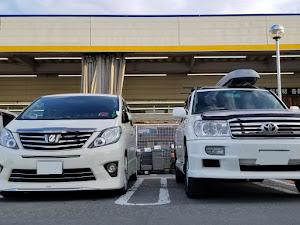 アルファード ANH25W 親車 240S タイプゴールド 4WDのカスタム事例画像 青森県のタイプゴールドさんの2019年05月24日20:10の投稿