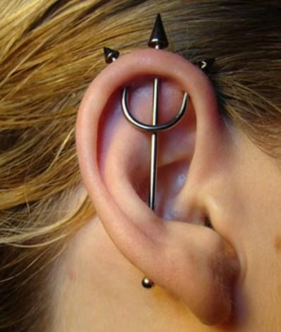 Women Ear Piercing for PC