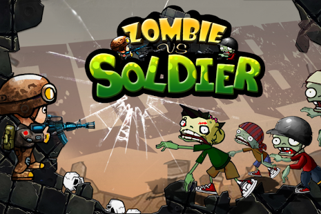 Zombies vs Soldier HD - náhled