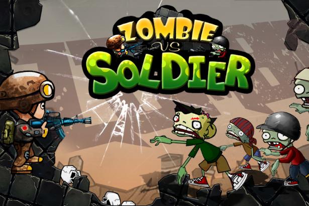 Zombies vs Soldier HD screenshot
