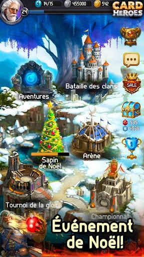 Card Heroes - Jeu de cartes en ligne (CCG/TCG/RPG)  captures d'écran 1