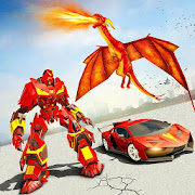 Flying Dragon Robot Car - Robot Transforming Games