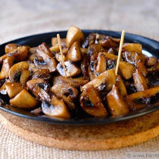 Teriyaki Roasted Mushrooms