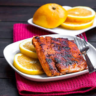 Pan Fried Salmon.