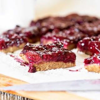 No Bake Gluten Free Chai Berry Bars