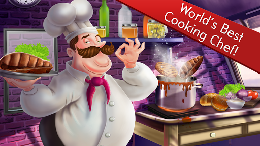 Chefu2019s Restaurant Cooking Fun Game 1.6 APK MOD screenshots 1