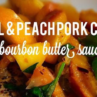 Basil and Peach Pork Chops