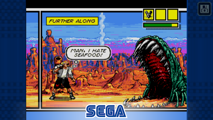 Comix Zone- screenshot