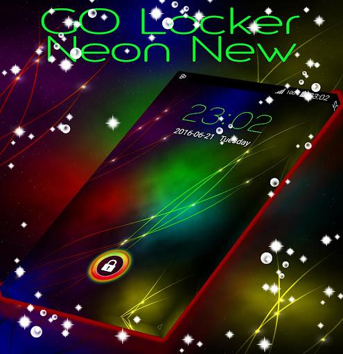GO 로커 네온 새로운