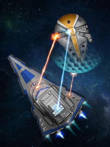 Space Arena: Destroyers interstellaires  captures d'écran 3