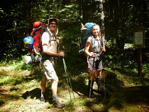 Photo: My hiking buddies!