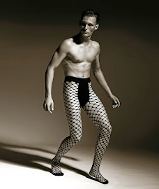 Fishnet for men is more popular with gay men.