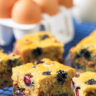 Blueberry Hazelnut Coffee Cake