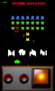 Classic Space Invaders Screenshot