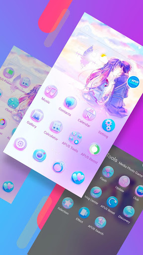 Fantastic Love-APUS Launcher free fashion theme - screenshot
