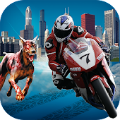Zombie City: Bike Racing