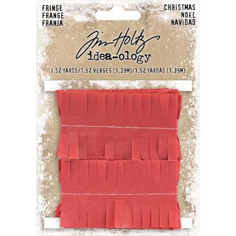 Tim Holtz Idea-Ology Tissue Fringe - Christmas