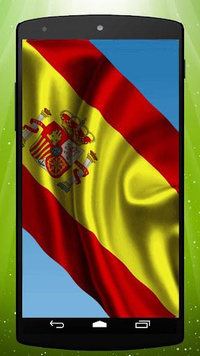 Spanish Flag Live Wallpaper