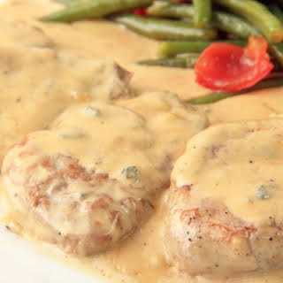 Tender Cream of Mushroom Pork Chops.