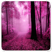 Pink Forest Live Wallpaper