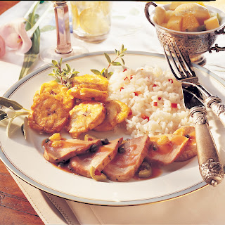 Filete de Cerdo (Pork Tenderloin Caribbean).