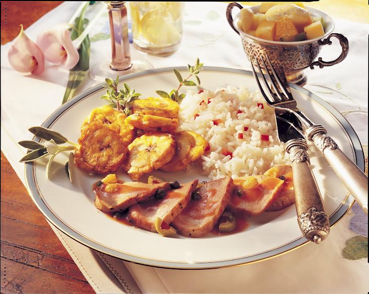 Filete de Cerdo (Pork Tenderloin Caribbean)