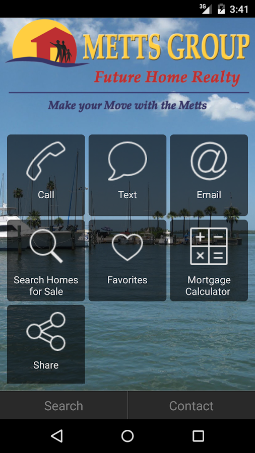 Metts Group- screenshot