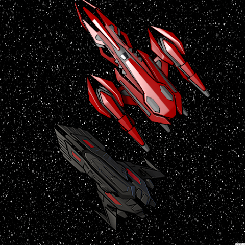 android Two space ship Screenshot 0