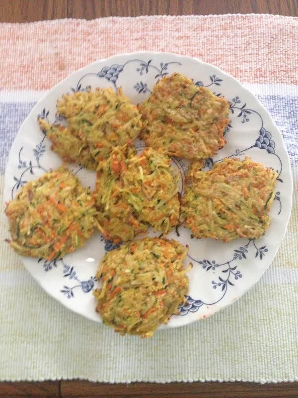 Veggie Cakes Recipe