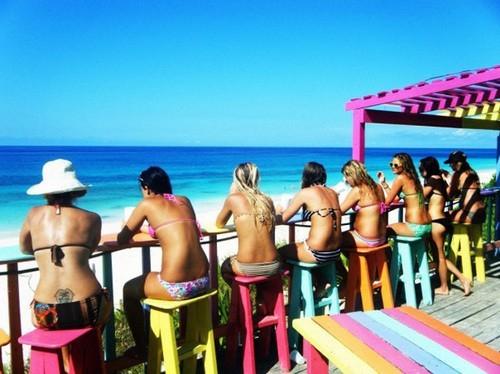 Photo: Beach bums.
