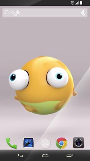 Air Funny Frog Smile Wallpaper