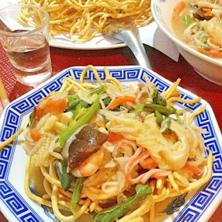 Crunchy Thick Noodles Sara Udon
