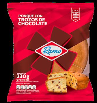 Ponque Ramo Trozos De   Chocolate X 230Gr