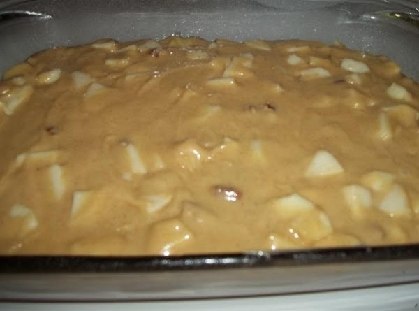 Spray a 9 x 13 baking pan or dish with bakers secret or grease...