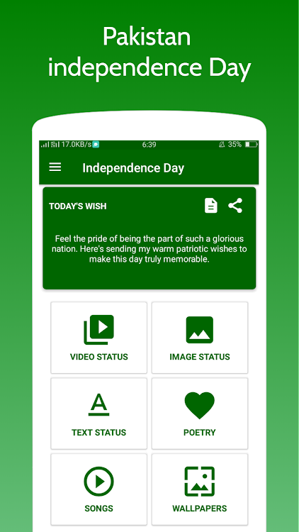 Pakistan independence Day - 14 August 1947 – (Android Apps