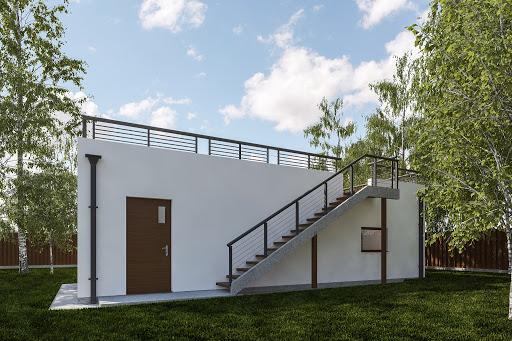 projekt G353 - Budynek garażowo-gospodarczy