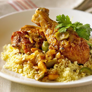 Moroccan Chicken with Buttered Couscous