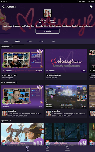 Screenshot 8 for Twitch.tv's Android app'
