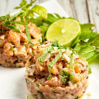 Mediterranean Salmon Tartare Recipe