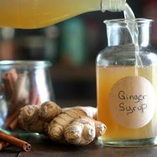 Ginger Syrup.