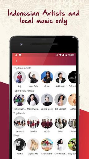 Nada Kita: Free Indonesian Music screenshot