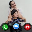 Aayu and Pihu Call Video - Fake Video Call Prank icon