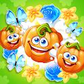 Funny Farm match 3 Puzzle game! icon