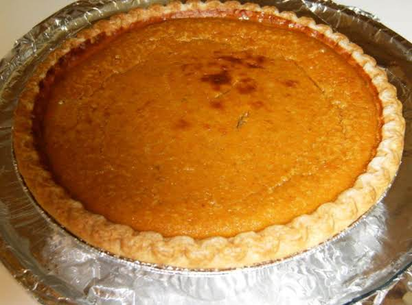 Pumpkin Ginger Pie Recipe