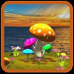 3D Mushroom-Sun Live Wallpaper Icon