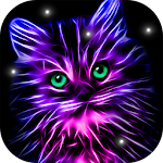 Neon Animals Wallpaper Moving Backgrounds 2.4