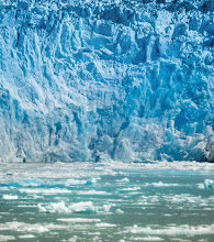 Photo: The massive glacier loomed... at one point I heard an unholy crack as part of the ice calved off into the water and turned over in movie-style slow motion...  from Trey Ratcliff at http://www.StuckInCustoms.com