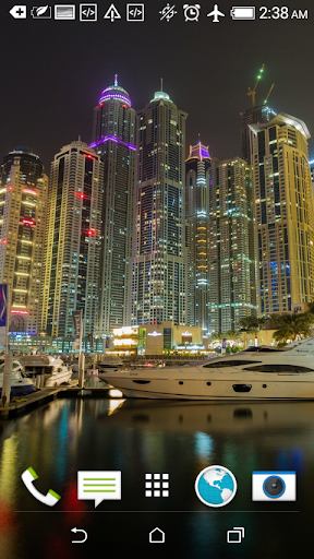 Night Dubai HD Wallpapers