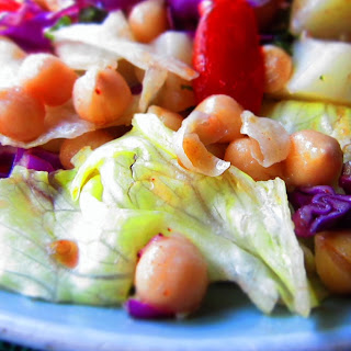 Chickpea Potato Salad with Mint Cider Dressing